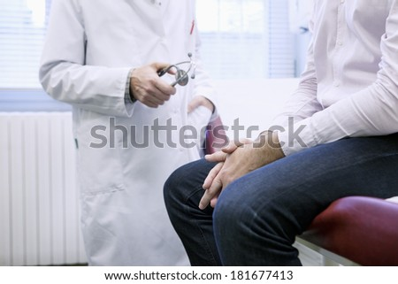 Man In Consultation, Dialogue - stock photo