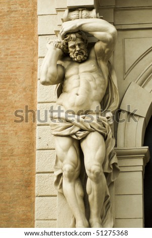 man of marble - stock photo