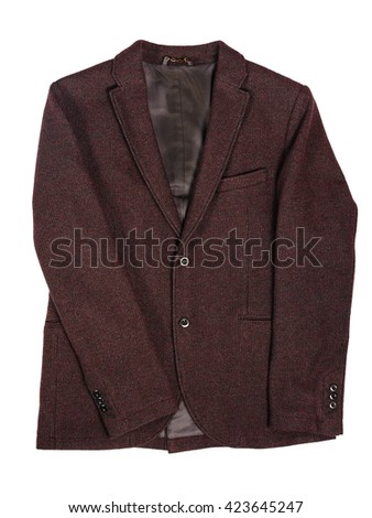 Man's jacket casual - stock photo