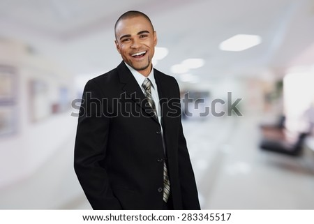 Manager, Businessman, Men. - stock photo