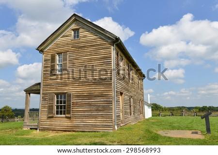 Manassas National Battlefield Park, Virginia USA - stock photo