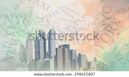 Manhattan - stock photo