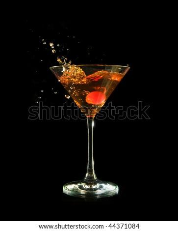 Manhattan - splash! - stock photo