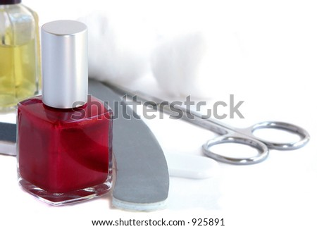 Manicure tools - stock photo