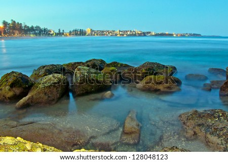 Manly Beach - stock photo