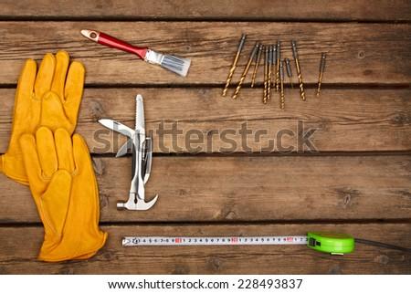 manual tools - stock photo