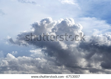 Many amazing things are above us. - stock photo