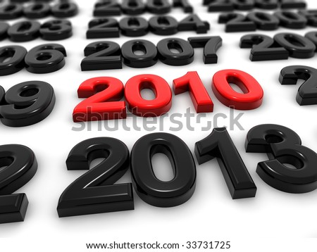 Many years - stock photo