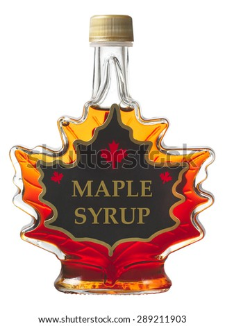 Maple syrup - stock photo