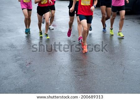 Marathon  - stock photo