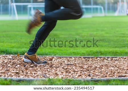 Marathon preparation - stock photo