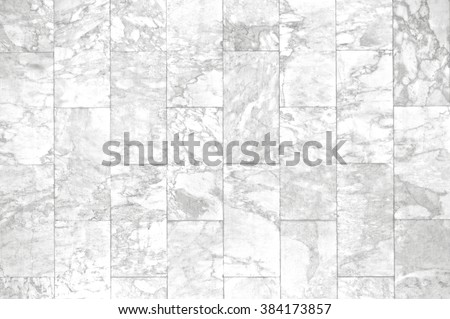 Marble brick patterned texture background. Marbles floor of Thailand, abstract natural marble black and white or gray wall for design. Top view and front view. Close up. - stock photo