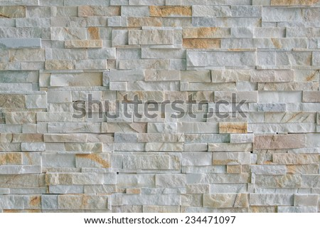 marble brick wall abstract for background. - stock photo