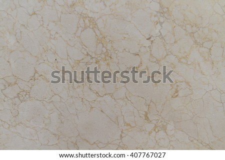 Marble Paonazzo cream shade over the entire volume excised brown, gray, golden and sometimes bluish veins. Vein texture of natural stone. Stone finishes by the method butterflies. Calacatta Paonazzo.  - stock photo