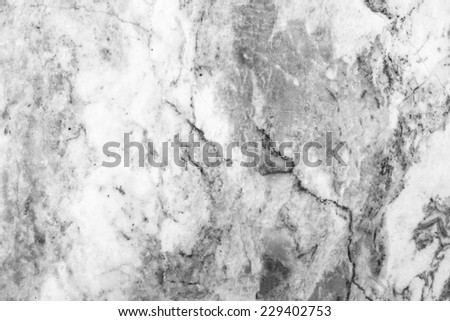 Marble patterned texture background ,Black and white. - stock photo