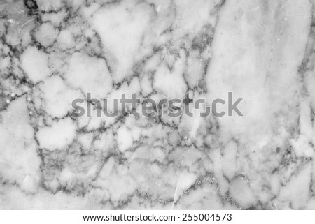 Marble patterned texture background for design . Marbles of Thailand, Black and white. - stock photo