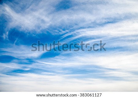 Marble sky with clouds - stock photo