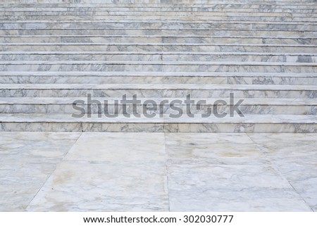 Marble stairs background texture - stock photo