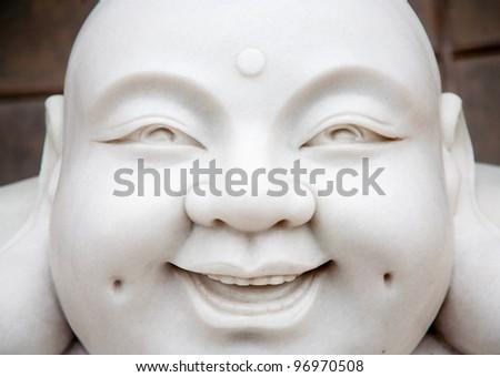Marble statue - stock photo
