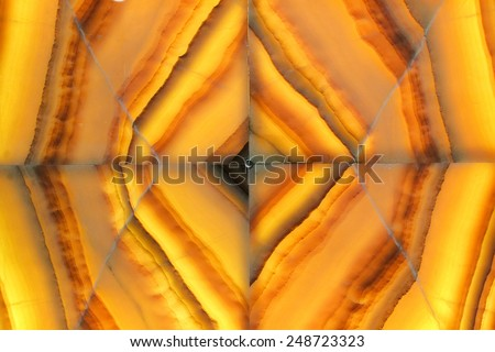 Marble stone background - collage , blur - stock photo