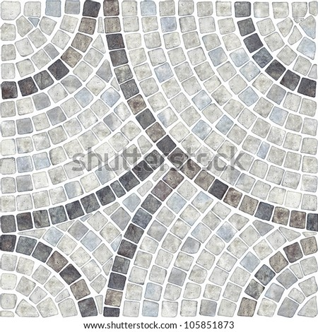 marble-stone mosaic texture. (High.res.) - stock photo