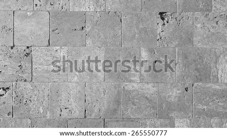 marble stone tiled floor - stock photo