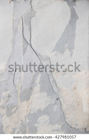 Marble texture background in grey tone. - stock photo