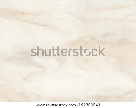 Marble texture. Gentle warm cream. Stone background - stock photo