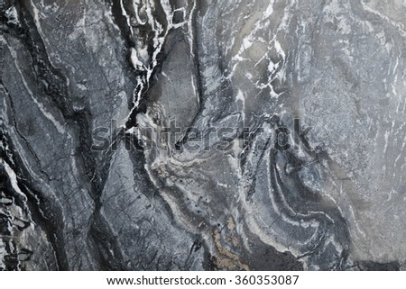 marble texture - granite layers design grey background closeup stone slab surface grain rock backdrop layout industry construction - stock photo