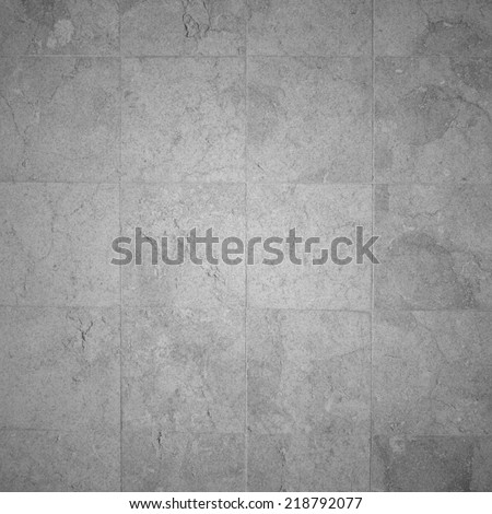 marble tiled floor - stock photo