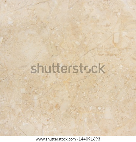 Marble with natural pattern. Beige marble background. - stock photo