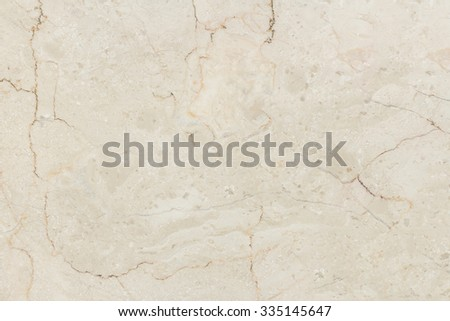 Marble with natural pattern. Beige marble stone wall texture. - stock photo