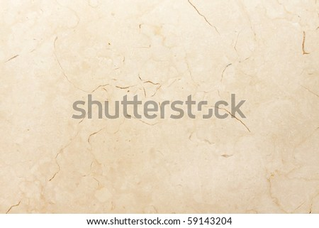marble with thinly line split - stock photo
