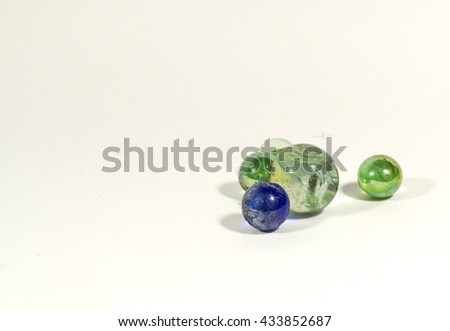 marbles balls - stock photo