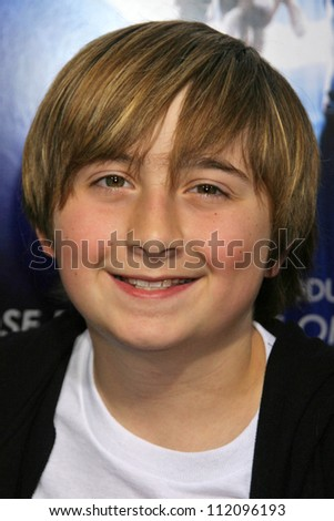 "Marc Musso at the Los Angeles Premiere of ""The Last Mimzy"". Mann Village Theatre, Westwood, CA. 03-30-07 - stock photo"