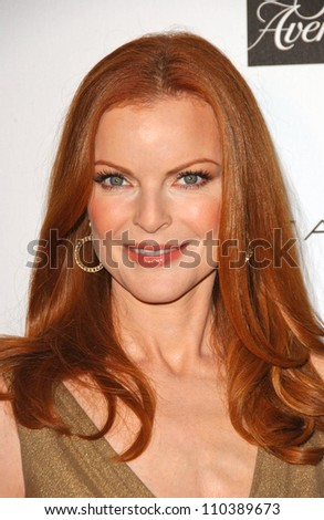 Marcia Cross at the Opening of the New Elie Tahari Boutique within Saks Fifth Avenue to benefit the Alliance for Children's Rights. Saks Fifth Avenue Beverly Hills, Beverly Hills, CA. 10-16-07 - stock photo