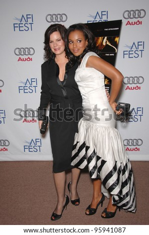 """MARCIA GAY HARDEN (left) & KERRY WASHINGTON at the AFI Festival premiere of their new movie """"The Dead Girl"""". November 7, 2006  Los Angeles, CA Picture: Paul Smith / Featureflash - stock photo"""