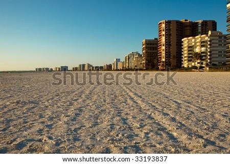 Marco Island, Southern Florida Beach - stock photo