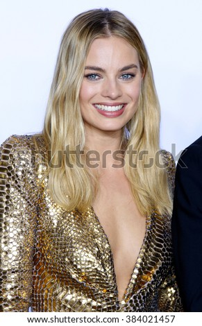 Margot Robbie at the 88th Annual Academy Awards - Press Room held at the Loews Hollywood Hotel in Hollywood, USA on February 28, 2016. - stock photo