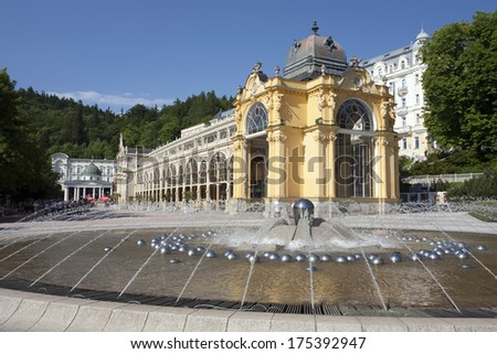 Marianske Lazne Spa, Czech Republic - stock photo
