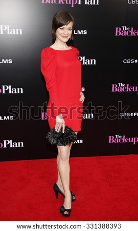 """Maribeth Monroe at the Los Angeles premiere of """"The Back-Up Plan"""" held at the Westwood Village Theater in Hollywood, USA on April 21, 2010. - stock photo"""