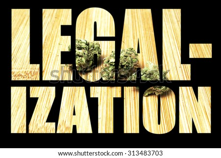 Marijuana Legalization  - stock photo