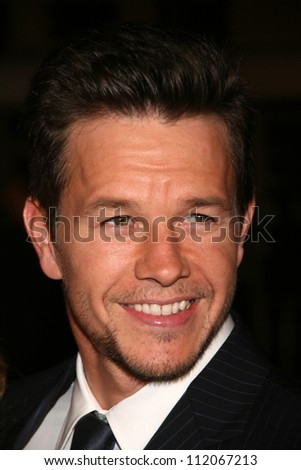 """Mark Wahlberg at the Los Angeles Premiere of """"Shooter"""". Mann Village Theatre, Westwood, CA. 03-08-07 - stock photo"""