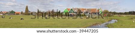 Marken, the Netherlands - stock photo