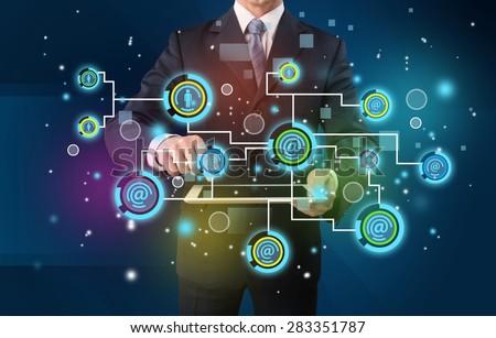 Market, internet, marketing. - stock photo