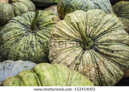 Market Vegetables Gold sheath. - stock photo