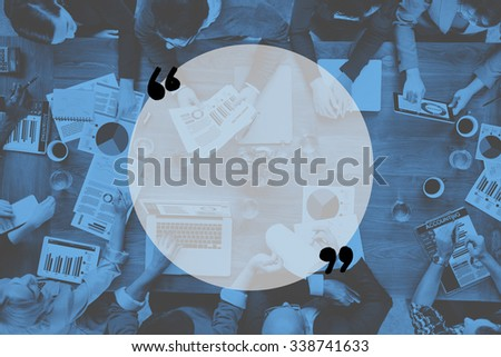 Marketing Analysis Accounting Team Teamwork Business Meeting Concept - stock photo