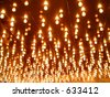 Marquee Lighting in Las Vegas, Nevada - stock photo