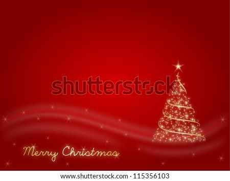 Marry Christmas - stock photo