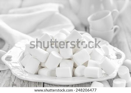 Marshmallows - stock photo